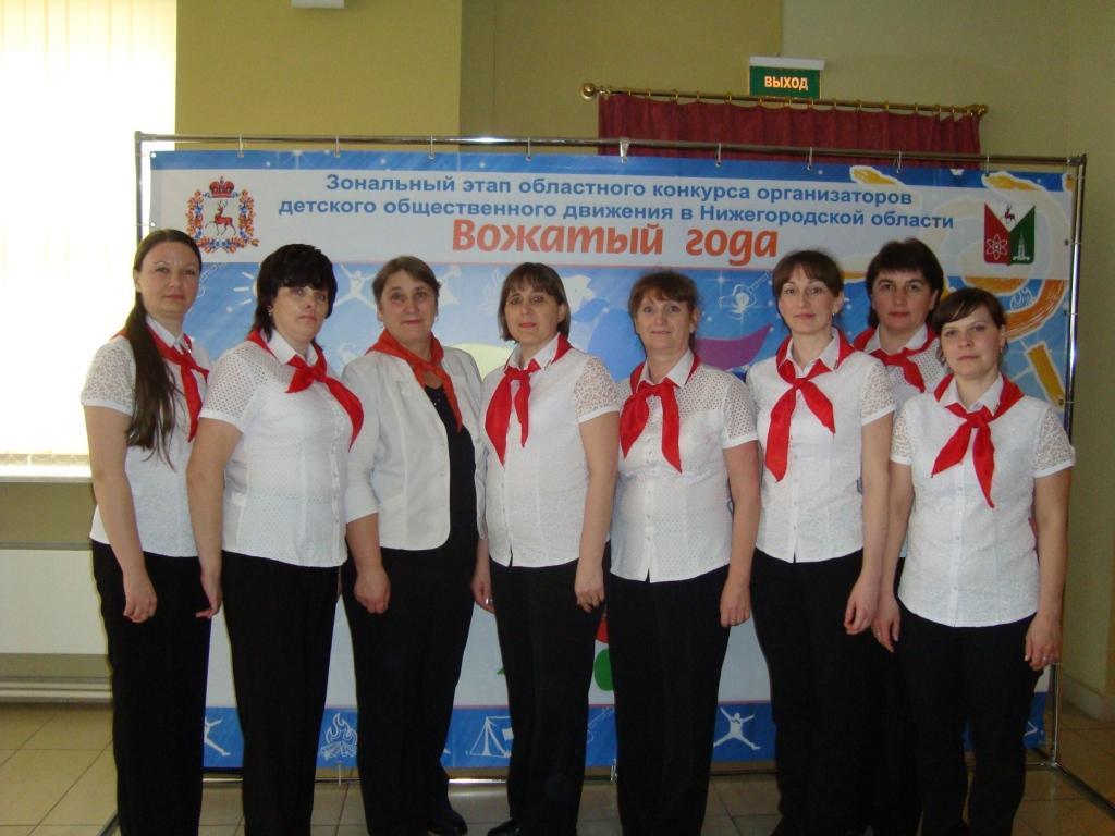 Зональный этап областного конкурса нижегородская